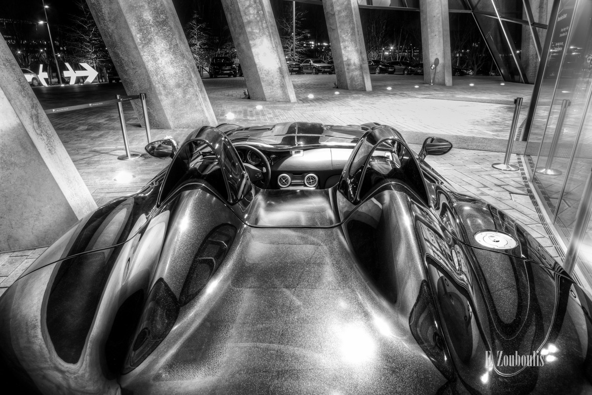 Automotive, Baden-Württemberg, Benz, Black And White, Car, Cars, Deutschland, EZ00037, Fine Art, Germany, MBMus, McLaren, Mercedes, Mercedes Benz Museum, Monochrom, Monochrome, Nacht, Night, SLR, Schwarzweiss, Stuttgart, Zouboulis, carsphotography, mercedes benz, moss, slr stirling moss, sportscar, stirling, stirling moss, z199, zouboulis photography