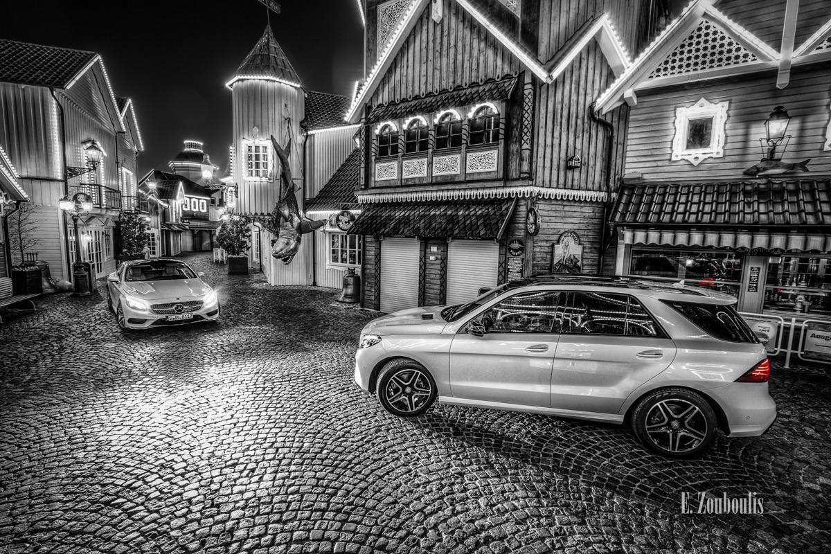 Njörd's Court - Der Mercedes-Benz S500 Coupé und der GLE begegnen sich in Norwegen