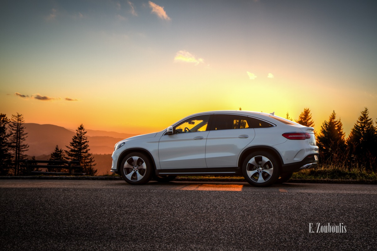 4Matic, Automotive, Baden-Württemberg, Benz, Black Forest, Cars, Coupe, Deutschland, EZ00369, Fine Art, FineArt, GLE, Germany, Himmel, Licht, Mercedes, Moody, Roadtrip, Schwarzwald, Sonnenuntergang, Stimmungsvoll, Sunset, Travel, Trees, Trip, Zouboulis, gle400, mbsocialcar, stimmung, zouboulis photography