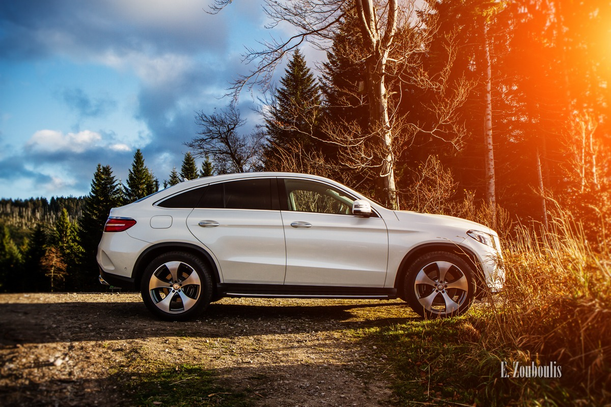 4Matic, Automotive, Baden-Württemberg, Benz, Black Forest, Cars, Coupe, Deutschland, EZ00375, Fine Art, FineArt, GLE, Germany, Himmel, Licht, Mercedes, Moody, Roadtrip, Schwarzwald, Sonnenuntergang, Stimmungsvoll, Sunset, Travel, Trees, Trip, Zouboulis, gle400, mbsocialcar, stimmung, zouboulis photography