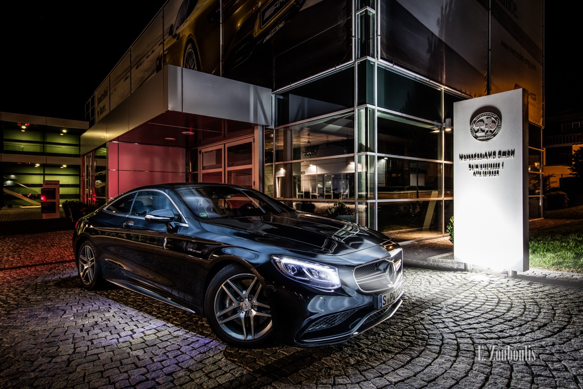 AMG, Affalterbach, Automotive, Benz, Black, Cars, Chromakey, Colorkey, Deutschland, Dunkel, EZ00448, Fine Art, FineArt, Germany, Langzeitbelichtung, Licht, Long Exposure, Luxus, Mercedes, Nacht, Night, Rot, S63, Zouboulis, luxury, mercedes amg gmbh, red, s63amg, schwarz, zouboulis photography