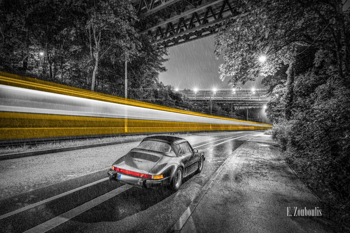 911, Architecture, Architektur, Auto, Automotive, Bridge, Brücke, Cabrio, Carrera, Cars, Chromakey, Colorkey, Deutschland, Dunkel, EZ00499, Fine Art, FineArt, Gelb, Germany, Historisch, Kaltental, Kaltentaler Abfahrt, Langzeitbelichtung, Licht, Lichtschweif, Light Trails, Long Exposure, Nacht, Night, Orange, Porsche, Rain, Regen, SSB, Stadtbahn, Strassenbahn, Stuttgart, Stuttgart Süd, Traffic, Trails, Tram, Vintage, Yellow, Zouboulis, helber, historic, historical, light trail, oldtimer, zouboulis photography, Österfeld, Österfeldtunnel