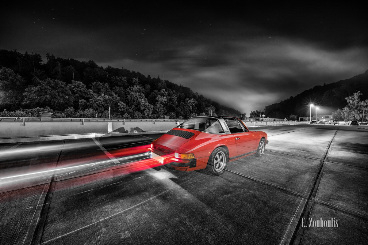 911, Auto, Automotive, Cabrio, Cars, Chromakey, Colorkey, Deutschland, Dunkel, EZ00504, Fine Art, FineArt, Germany, Ghost, Historisch, Langzeitbelichtung, Licht, Light Trails, Long Exposure, Nacht, Night, Porsche, Rot, Stuttgart, Stuttgart Süd, Südheim, Targa, Traffic, Trails, Vintage, Vogelrain, Zouboulis, helber, historic, historical, light trail, oldtimer, red, zouboulis photography