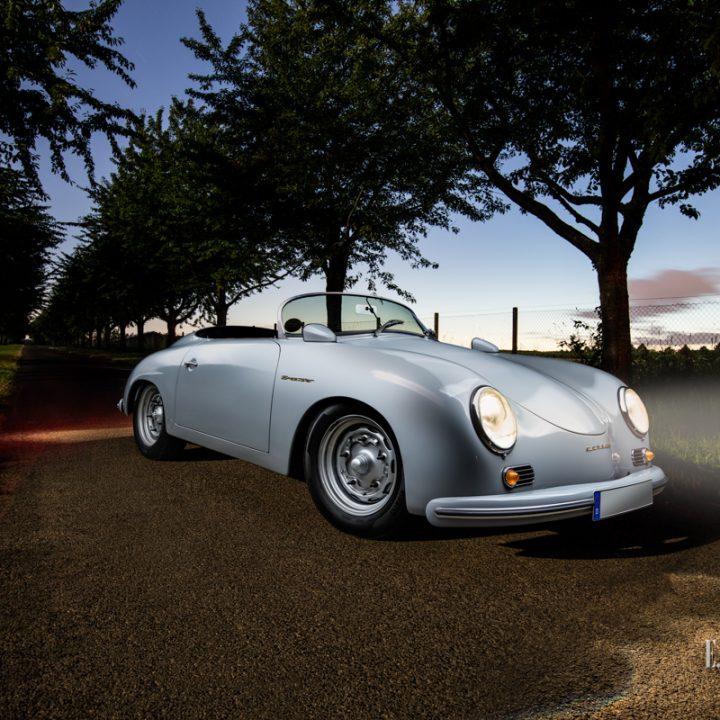 Ein fotografischer Ausflug mit einem Porsche 356 Speedster durch Stuttgart