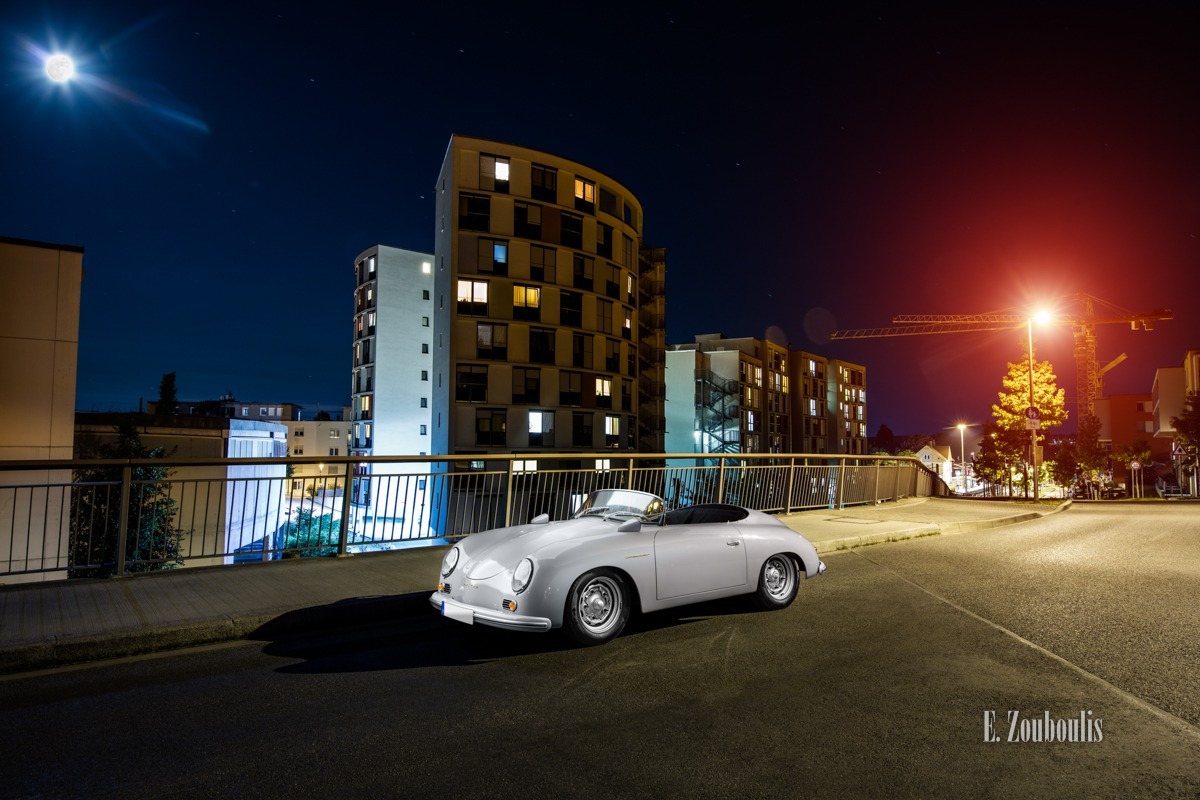 356, Auto, Bus, Bäume, Deutschland, Dunkel, EZ00539, Felder, Fine Art, FineArt, Germany, Langzeitbelichtung, Licht, Long Exposure, Mond, Moon, Möhringen, Nacht, Night, Porsche, Porsche 356, Porsche 356 Speedster, Roadster, Speedster, Station, Stuttgart, Trees, Vollmond, Zouboulis, bahnhof, classic, classic car refugium, helber, oldtimer, zouboulis photography