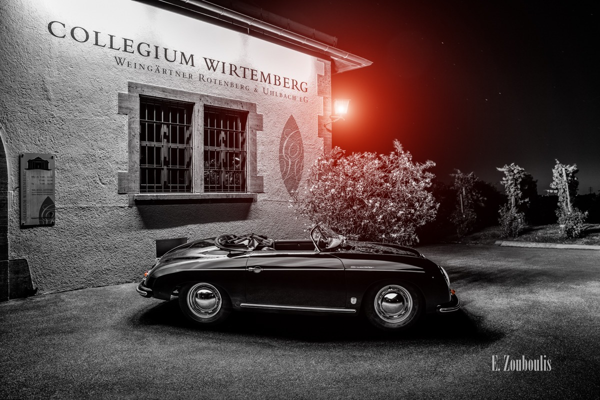 356, Auto, Automotive, Black And White, Car, Cars, Chromakey, Collegium Wirtemberg, Colorkey, Deutschland, Dunkel, EZ00565, Fine Art, FineArt, Germany, Langzeitbelichtung, Licht, Long Exposure, Monochrom, Monochrome, Nacht, Night, Porsche, Porsche 356 Speedster, Rotenberg, Schwarzweiss, Speedster, Stuttgart, Vineyard, Weinberg, Zouboulis, automobil, classic, classic car refugium, helber, oldie, oldtimer, reben, vineyards, zouboulis photography