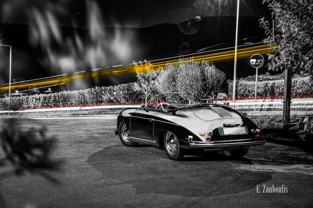 356, Auto, Automotive, Black And White, Car, Cars, Chromakey, Collegium Wirtemberg, Colorkey, Deutschland, Dunkel, EZ00567, Fine Art, FineArt, Gelb, Germany, Langzeitbelichtung, Licht, Light Trails, Long Exposure, Monochrom, Monochrome, Nacht, Night, Porsche, Porsche 356 Speedster, Rot, Rotenberg, Schwarzweiss, Speedster, Stuttgart, Traffic, Trails, Vineyard, Weinberg, Yellow, Zouboulis, automobil, classic, classic car refugium, helber, light trail, oldie, oldtimer, reben, red, vineyards, zouboulis photography