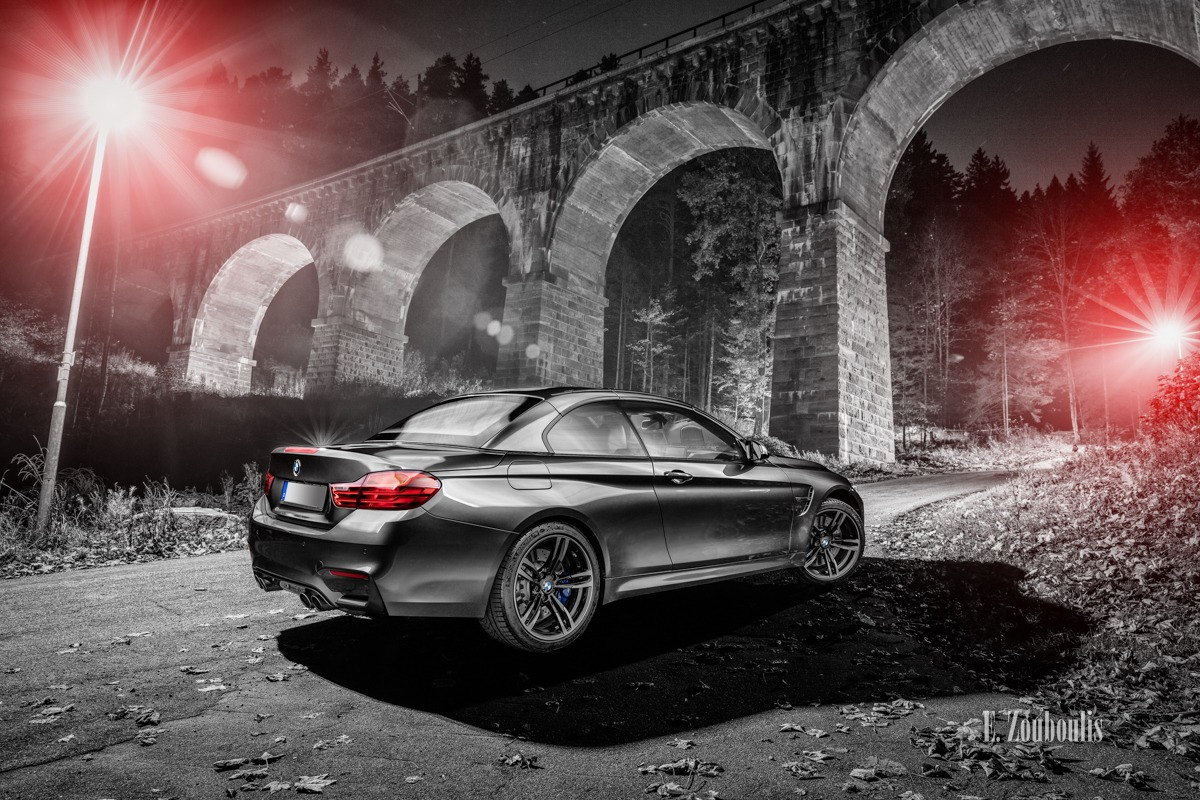 Aberle, Architecture, Architektur, Auto, Automotive, BMW, Black And White, Blau, Blue, Bridge, Brücke, Cabrio, Car, Cars, Chromakey, Colorkey, Deutschland, Dunkel, EZ00579, Fine Art, FineArt, Germany, Langzeitbelichtung, Licht, Long Exposure, M4, Monochrom, Monochrome, Nacht, Night, Rot, Schwarzweiss, Zouboulis, aqueduct, aquädukt, arc, automobil, bogen, cabriolet, freudenstadt, red, sportscar, urban, zouboulis photography