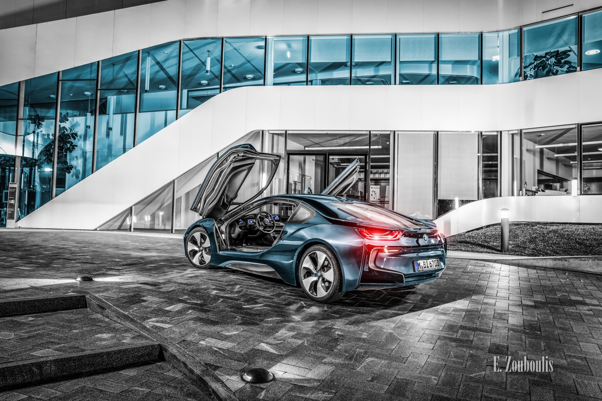 EZ00675 BMW i8 at Fraunhofer IAO