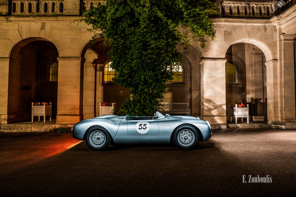 550 Spyder, Auto, Car, City, Deutschland, Dunkel, EZ00716, Fine Art, FineArt, Germany, Langzeitbelichtung, Licht, Light Long Exposure, Long Exposure, Nacht, Night, Porsche, Porsche 550, Rot, Stuttgart, Villa, Zouboulis, classic, classic car refugium, gemmingen, helber, historic, oldtimer, red, zouboulis photography