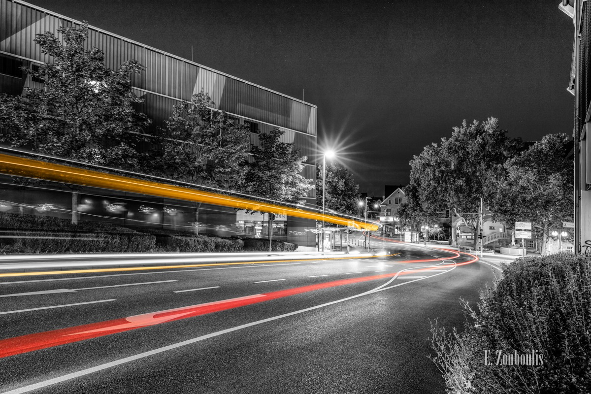 At The Speed Of Light, Bus, Chromakey, Colorkey, Deutschland, Dunkel, EZ00787, Fine Art, FineArt, Gelb, Germany, Langzeitbelichtung, Licht, Lichtschweif, Light Trails, Long Exposure, Nacht, Night, Rathaus, Rot, SSB, SSBAG, Speed, Stuttgart, Traffic, Trails, Vaihingen, Yellow, Zouboulis, bürgerbüro, red, robert-leicht-straße, schwabengalerie, zouboulis photography