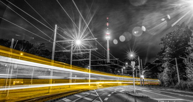 Stuttgart - At the Speed of Light - Stuttgart in Lichtgeschwindigkeit