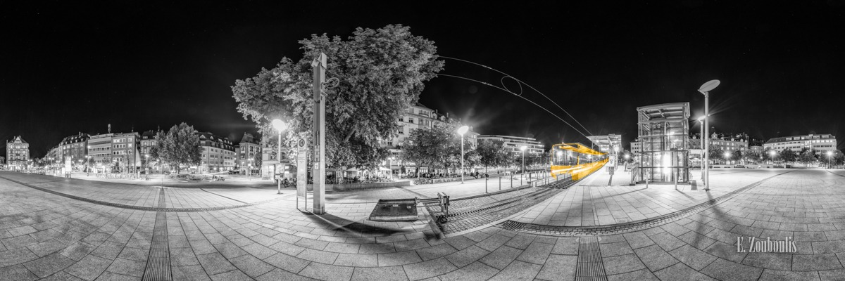 360, At The Speed Of Light, Chromakey, City, Colorkey, Deutschland, Dunkel, EZ00796, Fine Art, FineArt, Gelb, Germany, Geschwindigkeit, Heslach, Kaiserbau, Langzeitbelichtung, Licht, Lichtschweif, Light Trails, Long Exposure, Marienplatz, Nacht, Night, Panorama, Rack Railway, SSB, SSBAG, Speed, Station, Strassenbahn, Stuttgart, Stuttgart Süd, Süd, Traffic, Trails, Train, Tram, Velocity, Yellow, Zacke, Zahnradbahn, Zouboulis, haltestelle, tram station, zouboulis photography