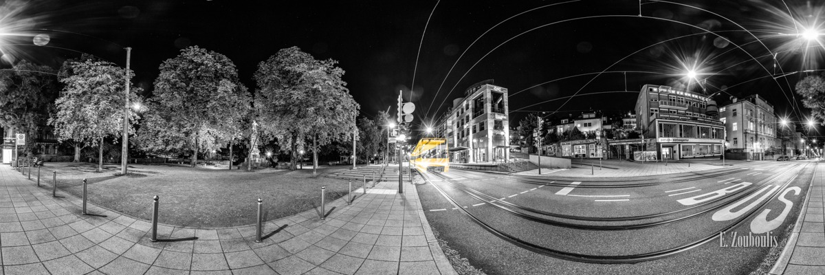 360, At The Speed Of Light, Bus, Chromakey, City, Colorkey, Deutschland, Dunkel, EZ00798, Eis, Eugensplatz, Fine Art, FineArt, Gelb, Germany, Geschwindigkeit, Langzeitbelichtung, Licht, Lichtschweif, Light Trails, Long Exposure, Nacht, Night, Panorama, SSB, SSBAG, Speed, Station, Strassenbahn, Traffic, Trails, Train, Tram, Velocity, Yellow, Zouboulis, eiscafe, haltestelle, pinguin, tram station, zouboulis photography
