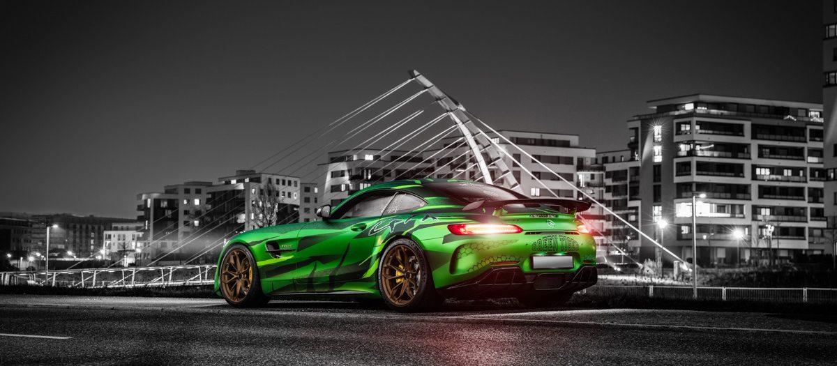 Sievers Performance Mercedes AMG GTR Green Tiger