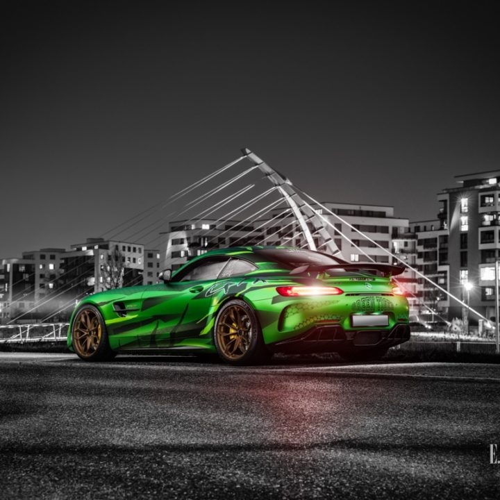 Sievers Performance Mercedes AMG GTR Green Tiger