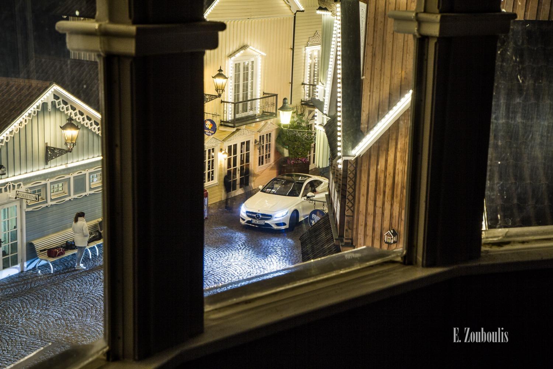 Der Mercedes-Benz S500 Coupe von Oben