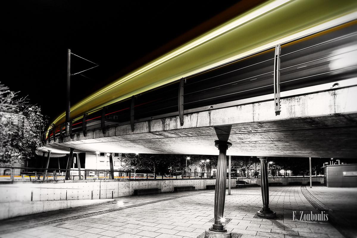 At The Speed Of Light, Chromakey, Colorkey, Deutschland, EZ00008, Fine Art, FineArt, Germany, Heslach, Light Trails, Marienplatz, Nacht, Night, Rack Railway, SSB, SSBAG, Speed, Stuttgart, Stuttgart Süd, Süd, Traffic, Trails, Zacke, Zahnradbahn, Zouboulis, zouboulis photography
