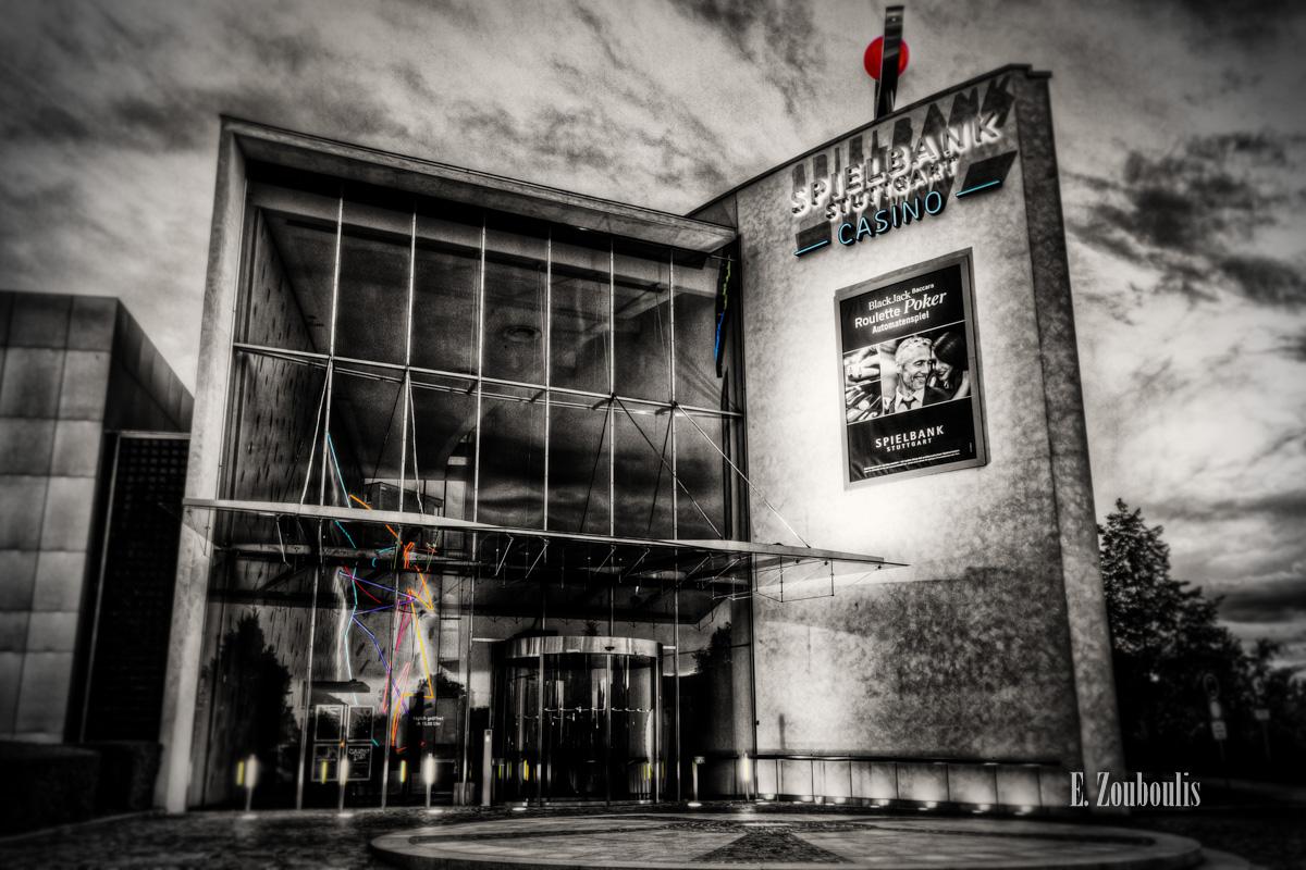 Architecture, Architektur, Casino, Centrum, Chromakey, Colorkey, Deutschland, EZ00067, Fine Art, FineArt, Germany, Möhringen, Nacht, Night, SI, Stuttgart, Zouboulis, spielbank, zouboulis photography