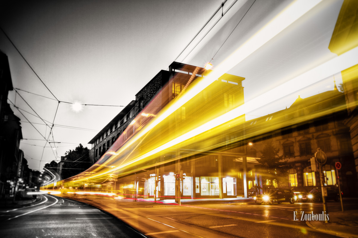 At The Speed Of Light, Blitz, Böblingerstrasse, Chromakey, Colorkey, Deutschland, EZ00070, Erwin Schoettle, Erwin-Schoettle-Platz, Fine Art, FineArt, Gelb, Gelber Blitz, Germany, Geschwindigkeit, Heslach, Langzeitbelichtung, Light Trails, Lightning, Long Exposure, Nacht, Night, SSB, SSBAG, Schreiberstrasse, Speed, Stuttgart, Stuttgart Süd, Traffic, Trails, Tram, Velocity, Yellow, Yellow Lightning, Zouboulis, generationenhaus, zouboulis photography