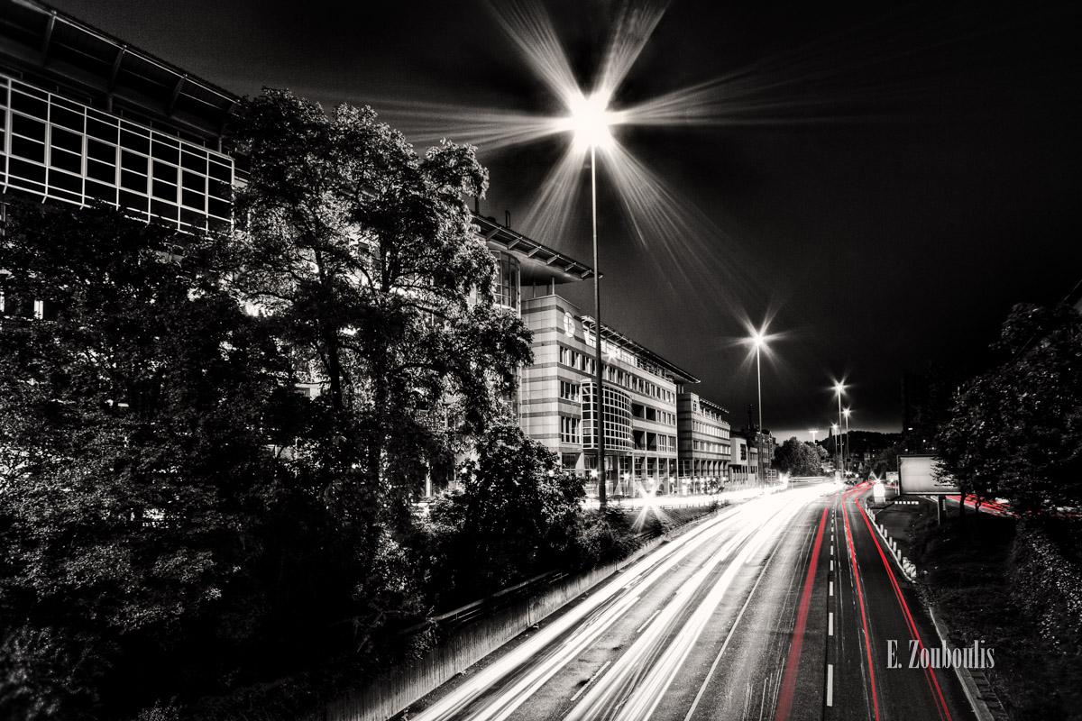 At The Speed Of Light, B14, Chromakey, Colorkey, Deutschland, EZ00131, Fine Art, FineArt, Germany, Heslach, Light Trails, Nacht, Night, Rot, Speed, Strasse, Street, Stuttgart, Stuttgart Süd, Süd, Traffic, Trails, Zouboulis, red, zouboulis photography, österreichischer platz