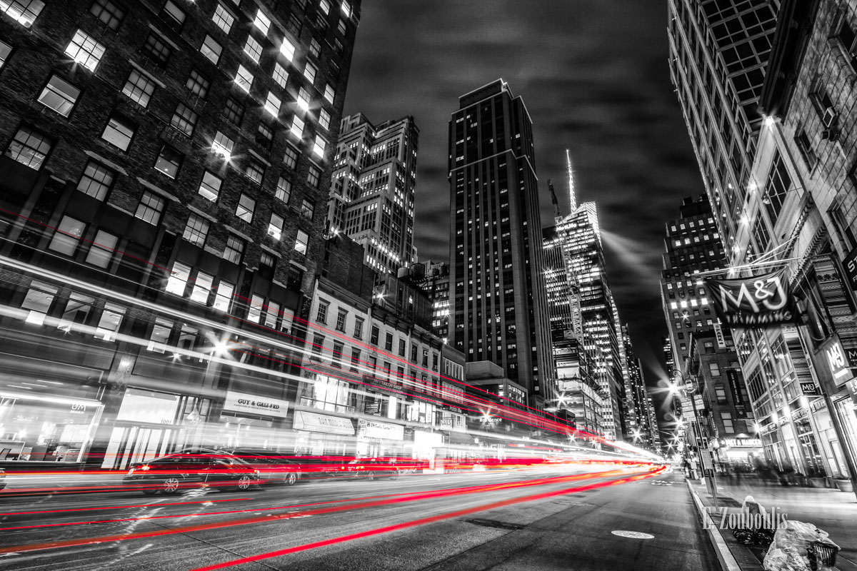 America, At The Speed Of Light, Best NY Photos, Best New York Photos, Chromakey, City, Clouds, Colorkey, Dark, Dunkel, EZ00449, Epic, Langzeitbelichtung, Licht, Light Trails, Long Exposure, Manhattan, NY, NYC, Nacht, New York, New York City, Night, Nightmare, Sin City, Sin City New York At The Speed Of Light, Street, Traffic, Trails, USA, United States of America, Wolken, Zouboulis, andre, cityscape, dinner, urban, zouboulis photography
