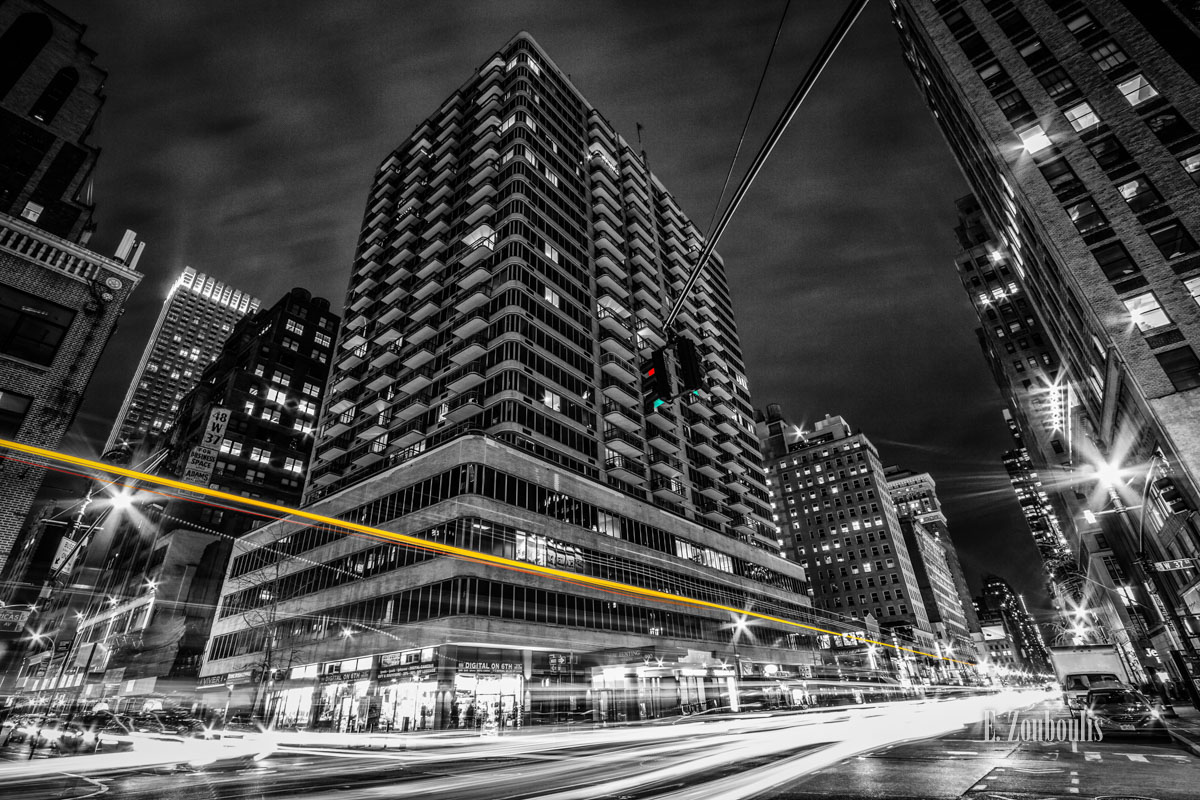 America, At The Speed Of Light, Best NY Photos, Best New York Photos, Chromakey, City, Clouds, Colorkey, Dark, Dunkel, EZ00562, Epic, Fine Art, FineArt, Gelb, Langzeitbelichtung, Licht, Light Trails, Long Exposure, Manhattan, NY, NYC, Nacht, New York, New York City, Night, Nightmare, Sin City, Sin City New York At The Speed Of Light, Street, Traffic, Trails, USA, United States of America, Wolken, Yellow, Zouboulis, cityscape, urban, zouboulis photography